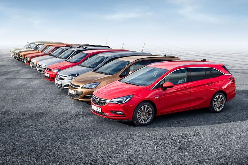 Opel Astra gechiedenis