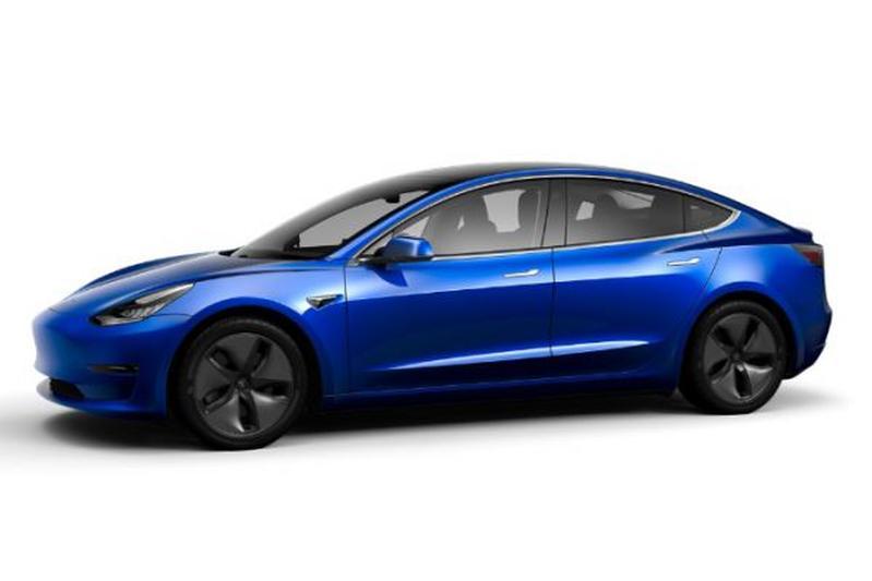 Tesla Model 3 configuratie