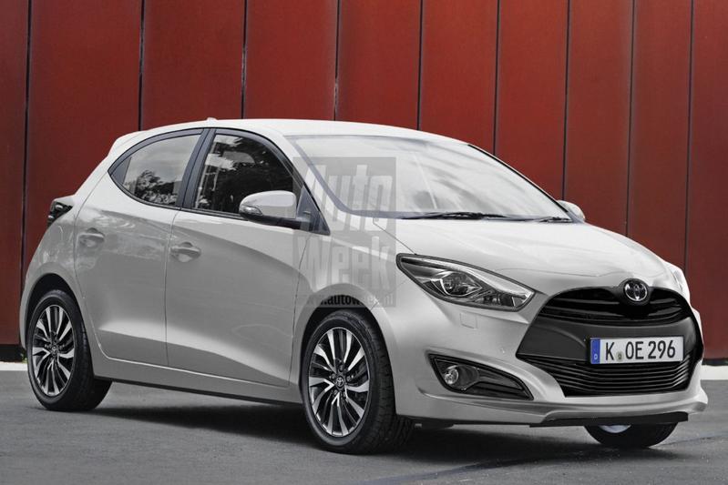 Toyota Yaris blik to the future