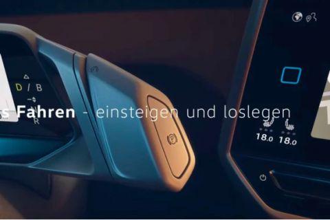 Interieur Volkswagen ID.3 duikt op