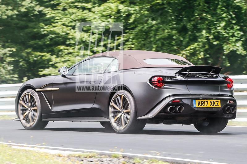 Gesnapt: Aston Martin Vanquish Zagato Volante