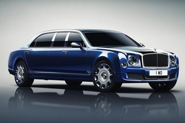 Bentley Mulsanne Grand Limousine Mulliner is lang