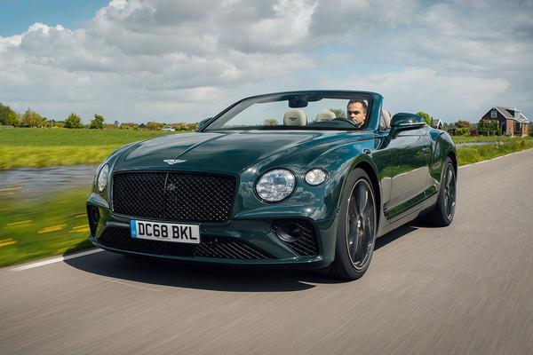 Bentley Continental GT Convertible - Rij-impressie