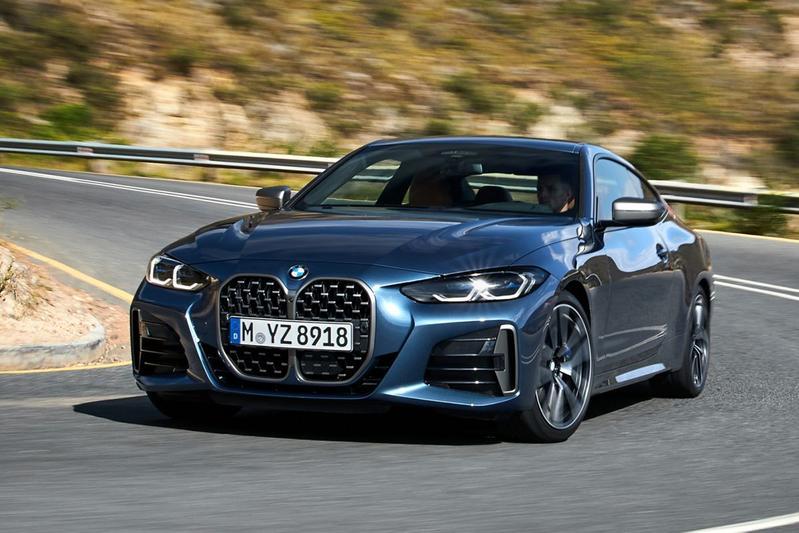 Nieuwe BMW 4-serie neus