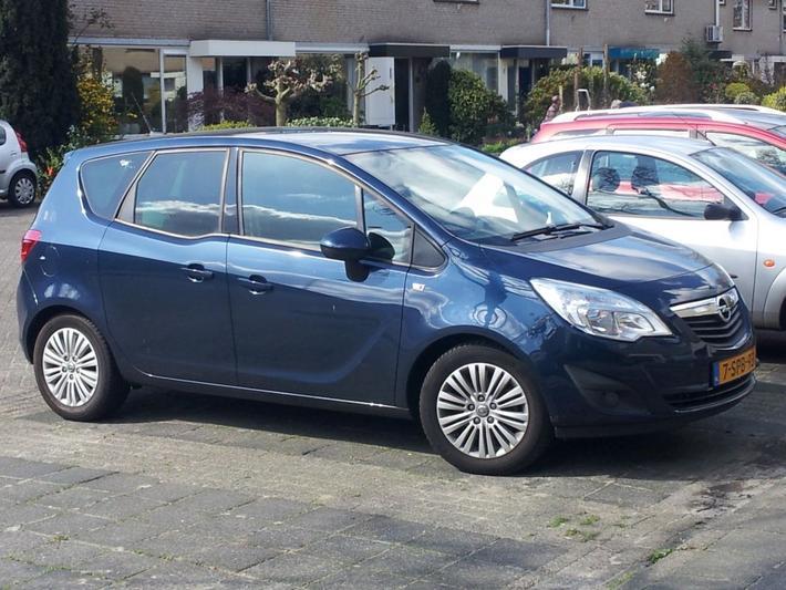 Opel Meriva 1.4 Turbo 120pk ecoFLEX LPG Cosmo (2013)