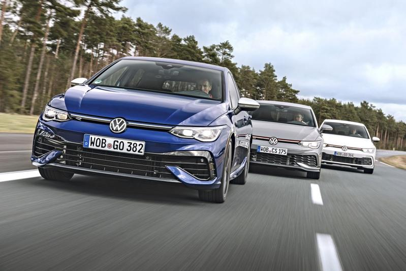 Snelle Volkswagens Golf - Triotest