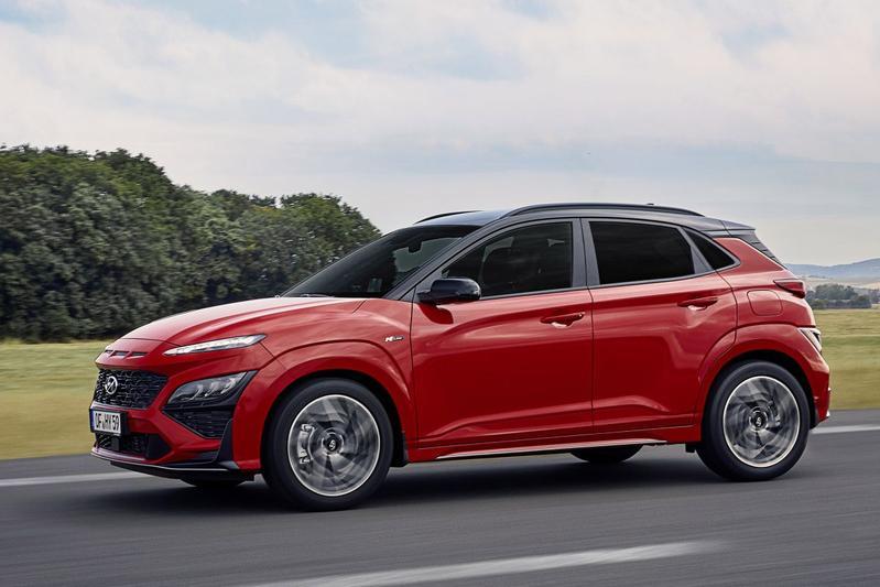 Hyundai Kona en Kona N-Line facelift