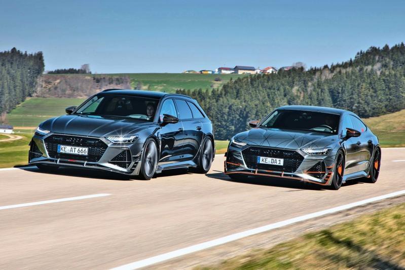 Abt RS 6-R en Abt RS 7-R - Eerste rijtest