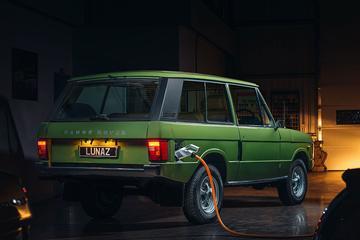 Klassieke Range Rover wordt elektrisch