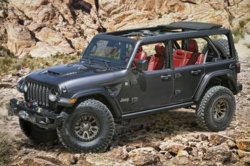 Jeep Wrangler Rubicon 392 Concept: V8-kracht!