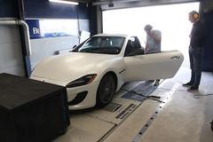 Maserati GranTurismo - Op de Rollenbank
