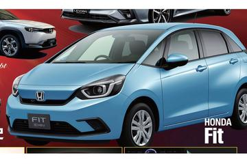 Ook gelekt: nieuwe Honda Jazz