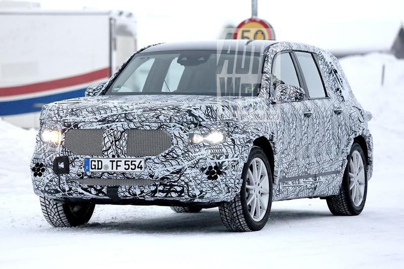 Opnieuw in beeld: Mercedes-Benz GLB-klasse