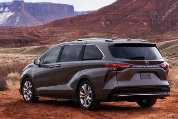 Toyota Sienna helemaal nieuw