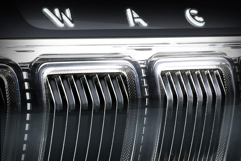 Jeep Grand Wagoneer teaser