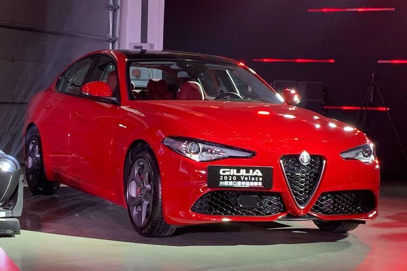Alaf Romeo Stelvio Giulia 2020