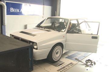Lancia Delta Integrale - Op de Rollenbank