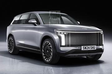 Hyundai Ioniq 7 - Blik to the Future