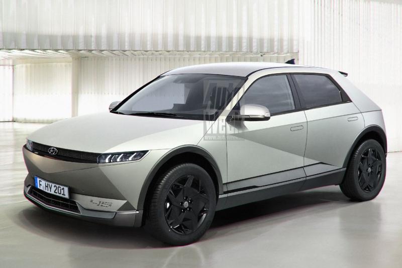 Hyundai 45 blik to the future render tekening vooruitblik