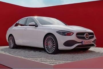 Nieuwe Mercedes-Benz C-klasse gelekt