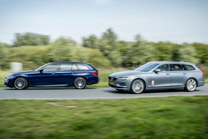 BMW 530i Touring - Volvo V90 T5