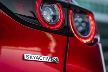 Skyactiv-X motor Mazda niet belast als diesel