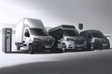 Renault deelt meer details over Master met brandstofcel