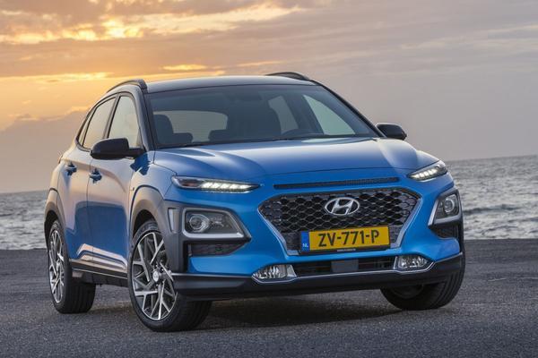 Prijzen Hyundai Kona Hybrid bekend