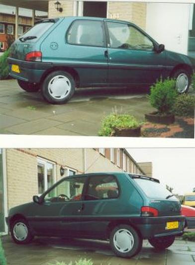 Peugeot 106 Accent 1.1i (1995)