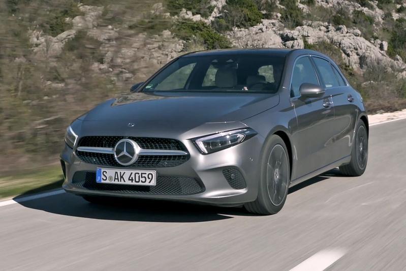 Mercedes-Benz A-Klasse Rij-impressie