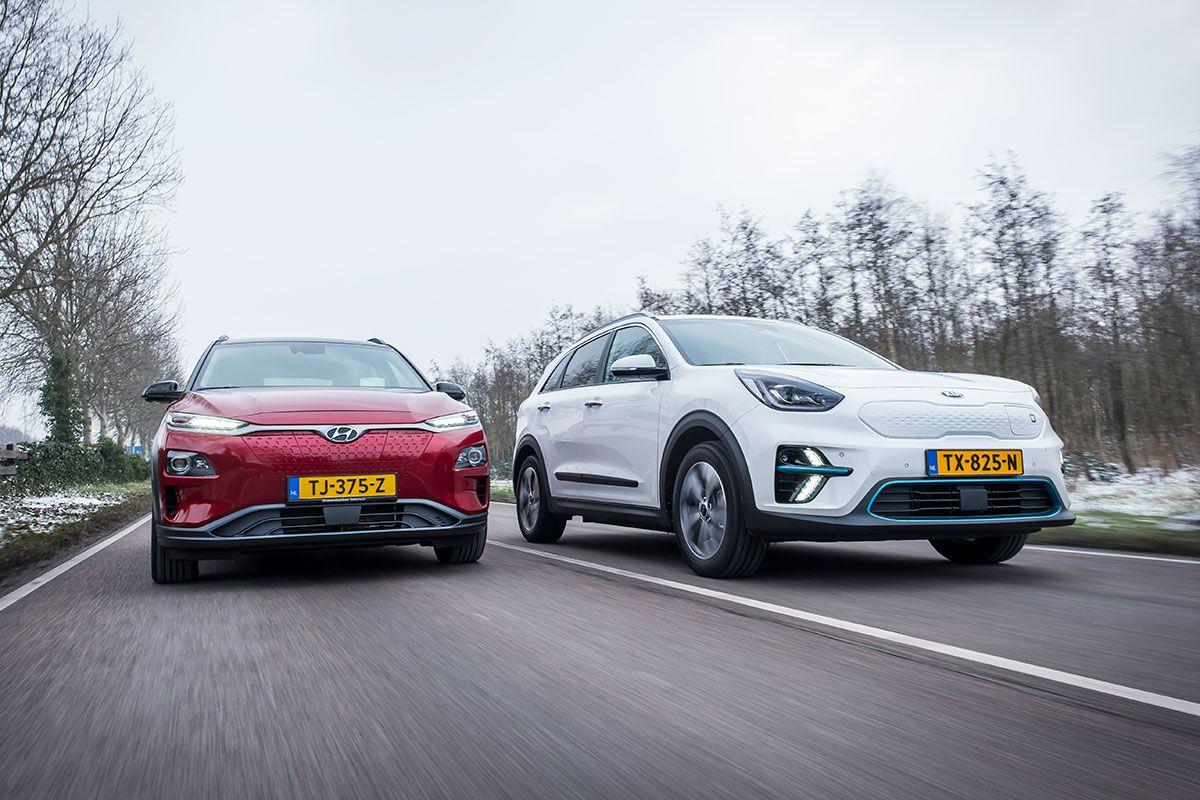 Hyundai Kona Electric vs Kia e-Niro