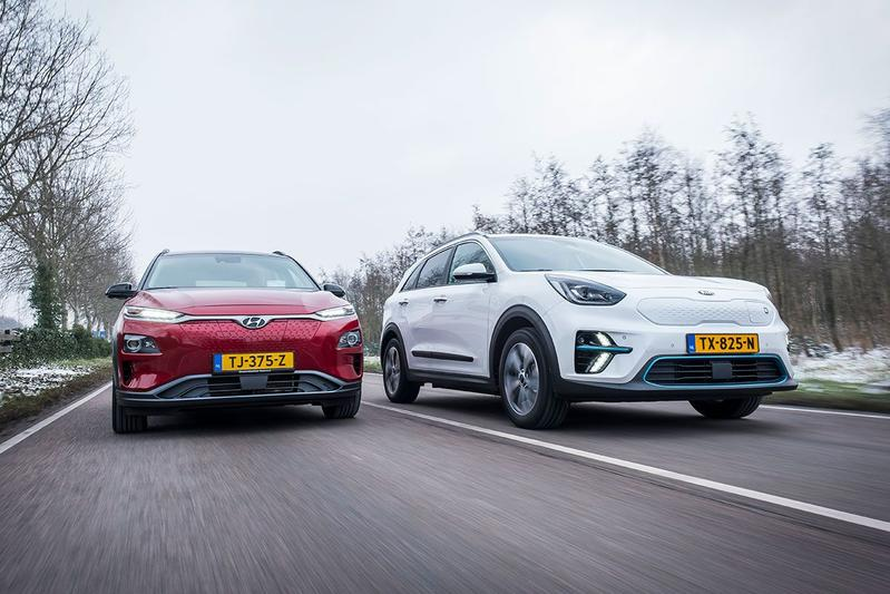 Hyundai Kona Electric vs Kia e-Niro - Dubbeltest