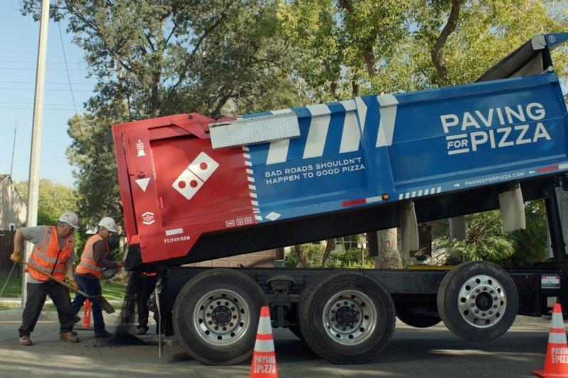 Domino's Pizza repareert wegen in de VS