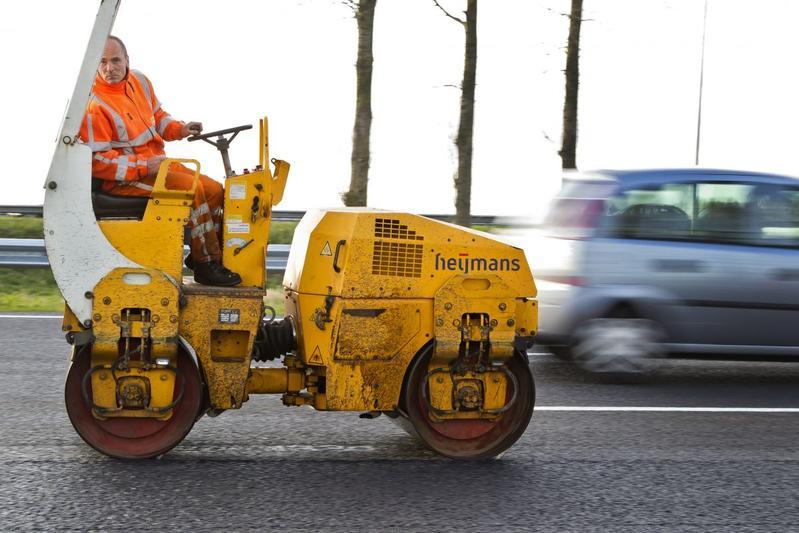 A12 Gouda wegwerkzaamheden (foto ANP)