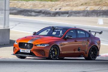 Jaguar XE SV Project 8 zet ronderecord