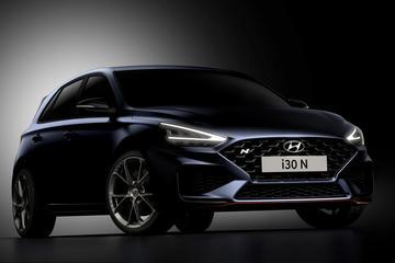 Vernieuwde Hyundai i30 N te zien