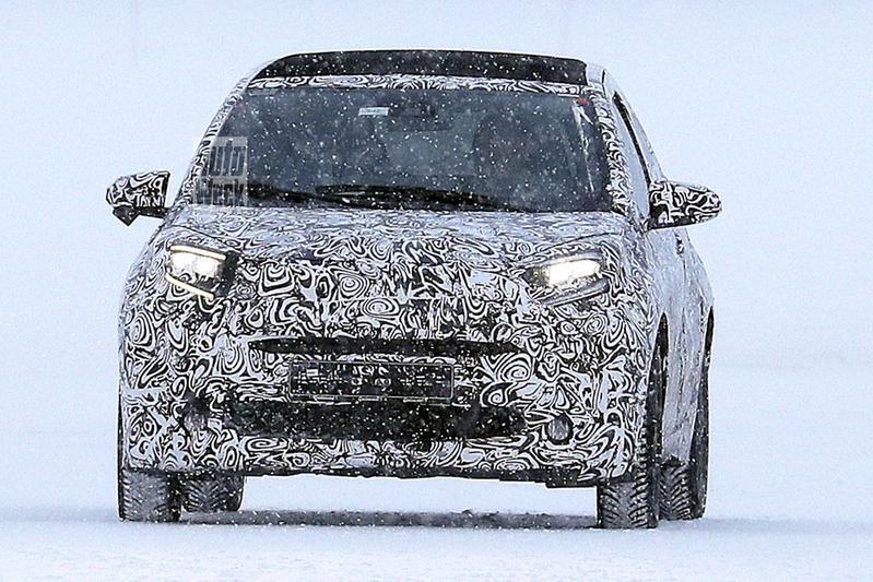 Toyota Aygo spyshots
