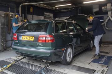 Volvo V40 T4 - Op de Rollenbank