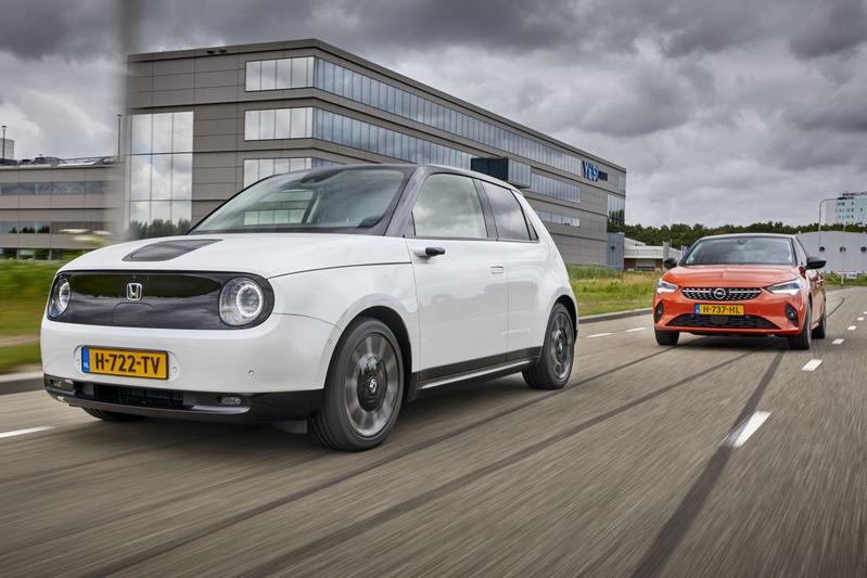 Honda E vs. Opel Corsa-e - Dubbeltest