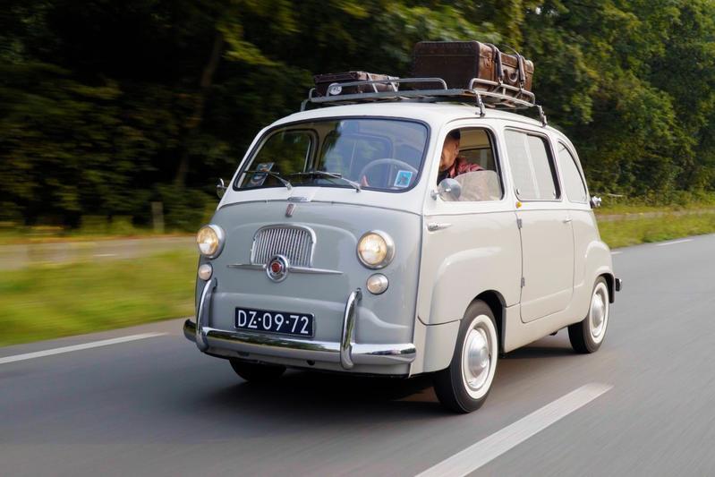 Fiat 600 D Multipla (1964) – Klokje Rond Klassiek