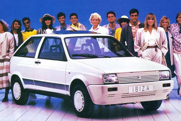 Facelift Friday: Seat Ibiza I