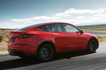 Acceleratie-upgrade voor Tesla Model Y