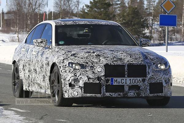 BMW M3 onbedoeld in de kijker