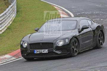 Bentley Continental GT weer op Nürburgring