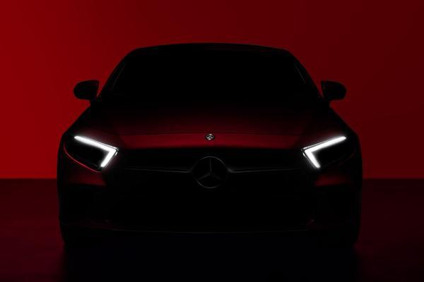 Nieuwe Mercedes-Benz CLS-klasse naar LA