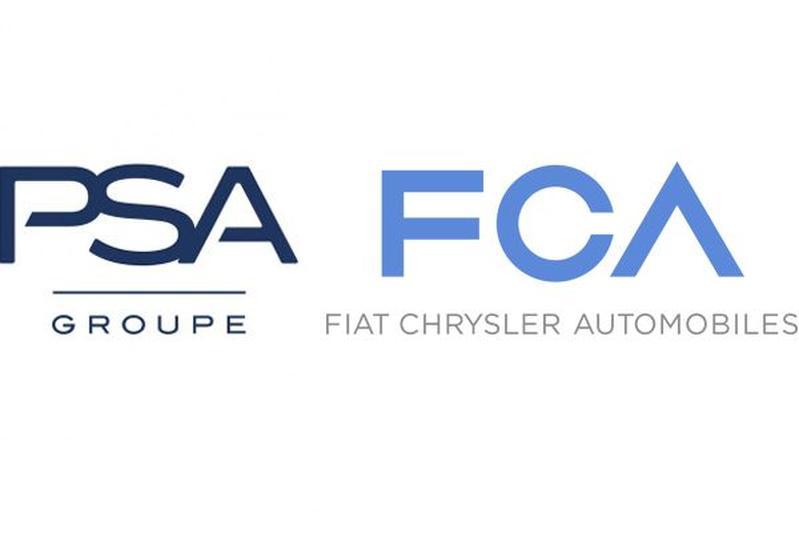 PSA FCA fusie logo's
