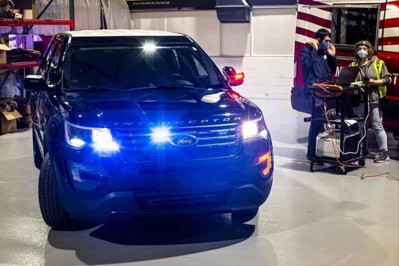 Ford Police Interceptor Utility Corona