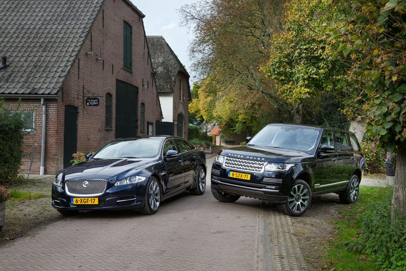 Jaguar XJ LWB - Range Rover LWB