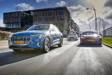 Audi E-tron - Jaguar I-Pace - Tesla Model S - Triotest