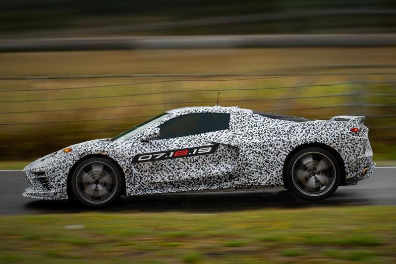 Chevrolet Corvette C8 Mid Engine teaser
